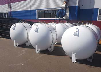 Мини газгольдер 600 литров